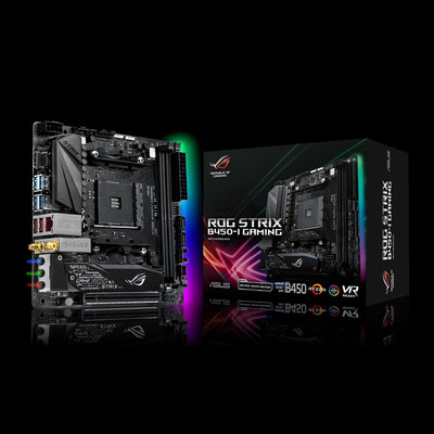 ASUS エイスース マザーボード ROG STRIX B450-I GAMING [AMD AM4 Ryzen B450]