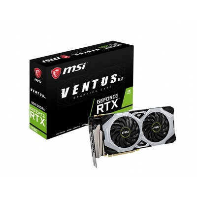 MSI エムエスアイ グラフィックボード GeForce RTX 2080 VENTUS 8G V2 [NVIDIA GeForce RTX 2080 / 8GB]
