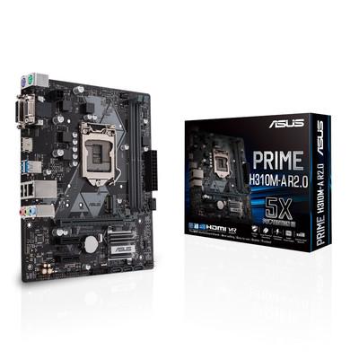 ASUS エイスース マザーボード PRIME H310M-A R2.0 [LGA1151 H310]