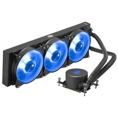 CoolerMaster クーラーマスター 水冷CPUクーラー MasterLiquid ML360 RGB TR4 Edition [MLX-D36M-A20PC-T1] [AMD Ryzen Threadripper用 3600mm ラジエーター 簡易水冷 RGB LED搭載]