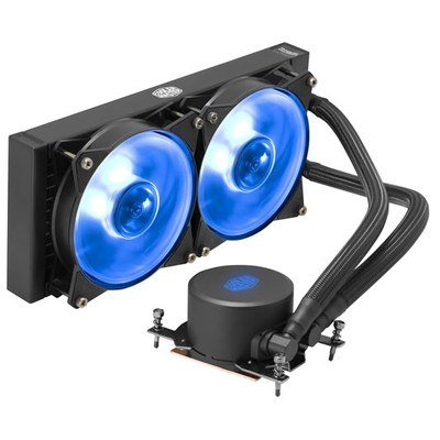 CoolerMaster クーラーマスター 水冷CPUクーラー MasterLiquid ML240 RGB TR4 Edition [MLX-D24M-A20PC-T1] [AMD Ryzen Threadripper用 240mm ラジエーター 簡易水冷 RGB LED搭載]
