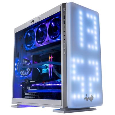 InWin インウィン プログラマブルRGB LED搭載 ミドルタワー PCケース 307シリーズ ホワイト [IW-307-White]