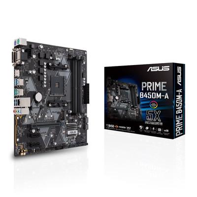 ASUS エイスース マザーボード PRIME B450M-A [AMD AM4 Ryzen B450]