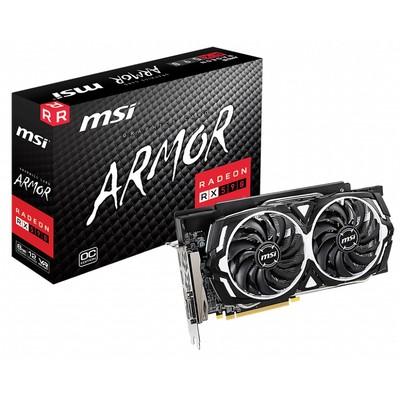 MSI エムエスアイ グラフィックボード Radeon RX 590 ARMOR 8G OC [AMD Radeon RX 590 8GB]
