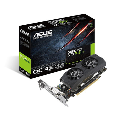 ASUS エイスース グラフィックボード GTX1050TI-O4G-LP-BRK [NVIDIA GeForce GTX 1050 Ti / 4GB]