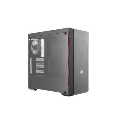 CoolerMaster クーラーマスター LED搭載 ミドルタワー PCケース MasterBox MB600Lシリーズ レッド [MCB-B600L-KA5N-S00]