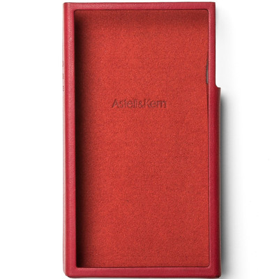 Astell&Kern A&futura SE100 専用 本革ケース ガーネットレッド [A&futura SE100 Case Garnet Red]