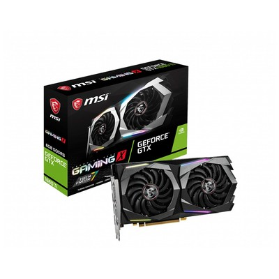 MSI エムエスアイ グラフィックボード GeForce GTX 1660 Ti GAMING X 6G [NVIDIA GeForce GTX 1660 Ti / 6GB]