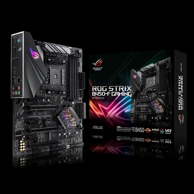 ASUS エイスース マザーボード ROG STRIX B450-F GAMING [AMD AM4 Ryzen B450]