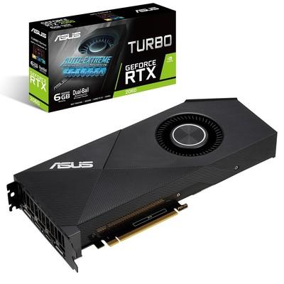 ASUS エイスース グラフィックボード TURBO-RTX2060-6G [NVIDIA GeForce RTX 2060 / 6GB]