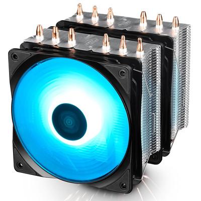 DeepCool ディープクール RGB LED搭載 CPUクーラー Neptwin RGB [DP-MCH6-NT-A4RGB]