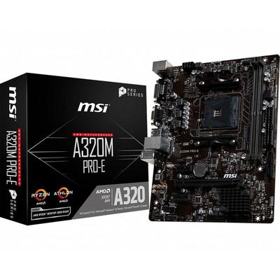 MSI エムエスアイ マザーボード A320M PRO-E [AMD AM4 Ryzen A320]