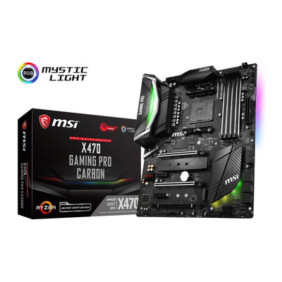 MSI エムエスアイ マザーボード X470 GAMING PRO CARBON [AMD AM4 Ryzen X470]