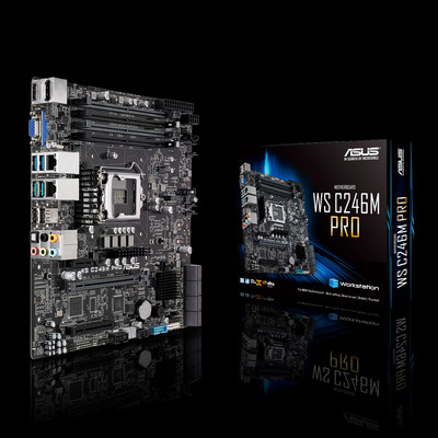 ASUS エイスース マザーボード WS C246M PRO [LGA1151 C426]