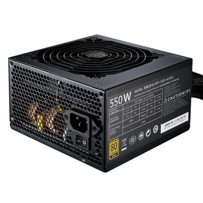 CoolerMaster クーラーマスター 80 PLUS GOLD フラットケーブル PC用電源 MWE GOLD 550 [MPY-5501-ACAAG]