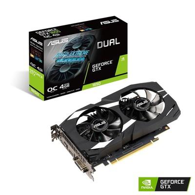 ASUS エイスース グラフィックボード DUAL-GTX1650-O4G [NVIDIA GeForce GTX 1650 / 4GB]