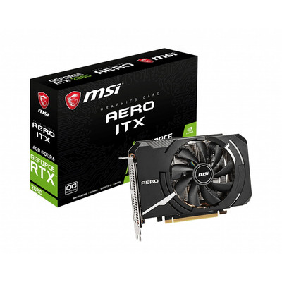MSI エムエスアイ グラフィックボード GeForce RTX 2060 AERO ITX 6G OC [NVIDIA GeForce RTX 2060 / 6GB]