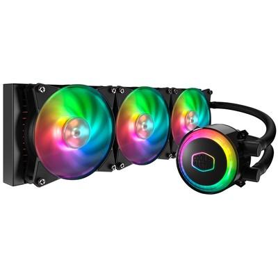CoolerMaster クーラーマスター 水冷CPUクーラー MasterLiquid ML360R RGB [MLX-D36M-A20PC-R1] [360mm ラジエーター 簡易水冷 RGB LED搭載]