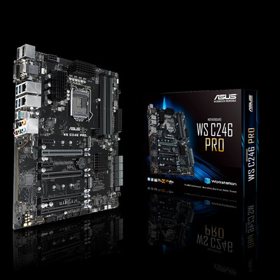 ASUS エイスース マザーボード WS C246 PRO [LGA1151 C426]