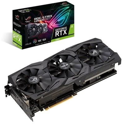 ASUS エイスース グラフィックボード ROG-STRIX-RTX2060-O6G-GAMING [NVIDIA GeForce RTX 2060 / 6GB]
