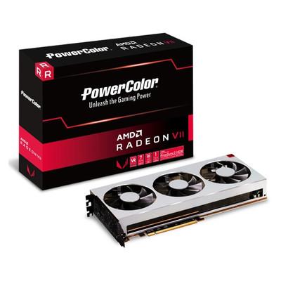 PowerColor パワーカラー グラフィックボード Radeon VII 16GB HBM2 [AXVII 16GBHBM2-3DH] [AMD Radeon VII / 16GB]