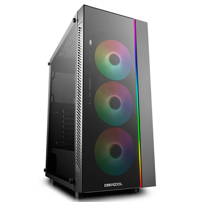 DeepCool ディープクール RGB LED搭載 ミドルタワーPCケース MATREXX 55 ADD-RGB 3F [DP-ATX-MATREXX55-AR-3F]