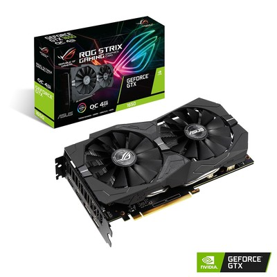 ASUS エイスース グラフィックボード ROG-STRIX-GTX1650-O4G-GAMING [NVIDIA GeForce GTX 1650 / 4GB]