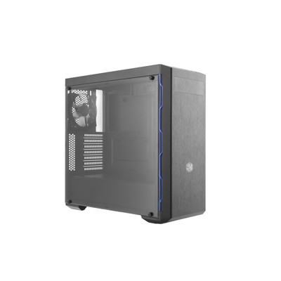 CoolerMaster クーラーマスター LED搭載 ミドルタワー PCケース MasterBox MB600Lシリーズ ブルー [MCB-B600L-KA5N-S01]