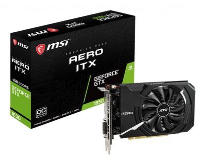 MSI エムエスアイ グラフィックボード GeForce GTX 1650 AERO ITX 4G OC [NVIDIA GeForce GTX 1650 / 4GB]
