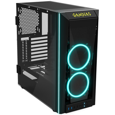 GAMDIAS ガンディアス ミドルタワー PCケース TALOS M1