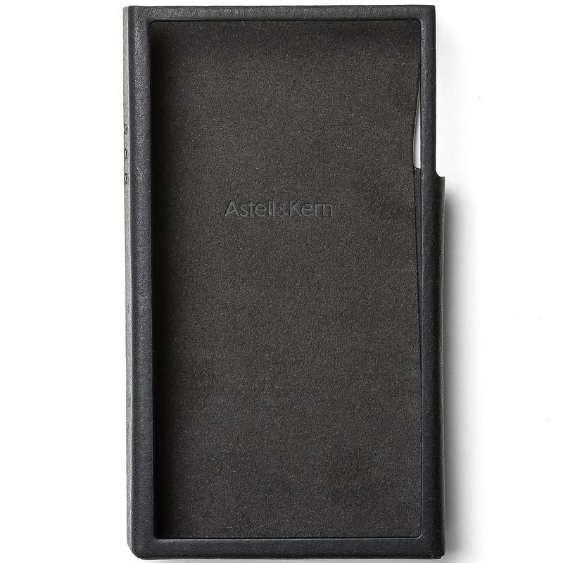 Astell&Kern A&futura SE100 専用 本革ケース エボニーブラック [A&futura SE100 Case Ebony Black]
