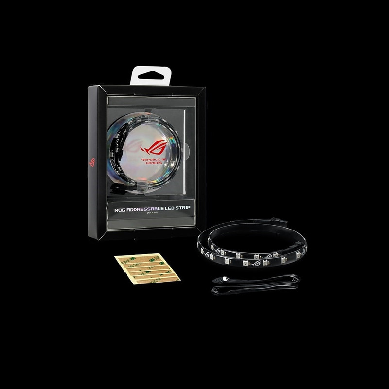 ASUS エイスース RGB LEDテープ ROG Addressable LED Strip (60cm)