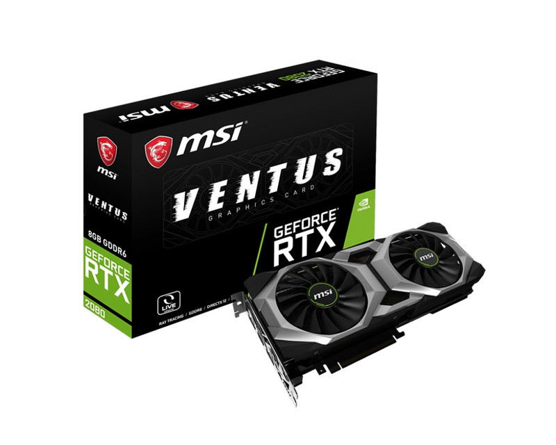 MSI エムエスアイ グラフィックボード GeForce RTX 2080 VENTUS 8G OC [NVIDIA GeForce RTX 2080 / 8GB]