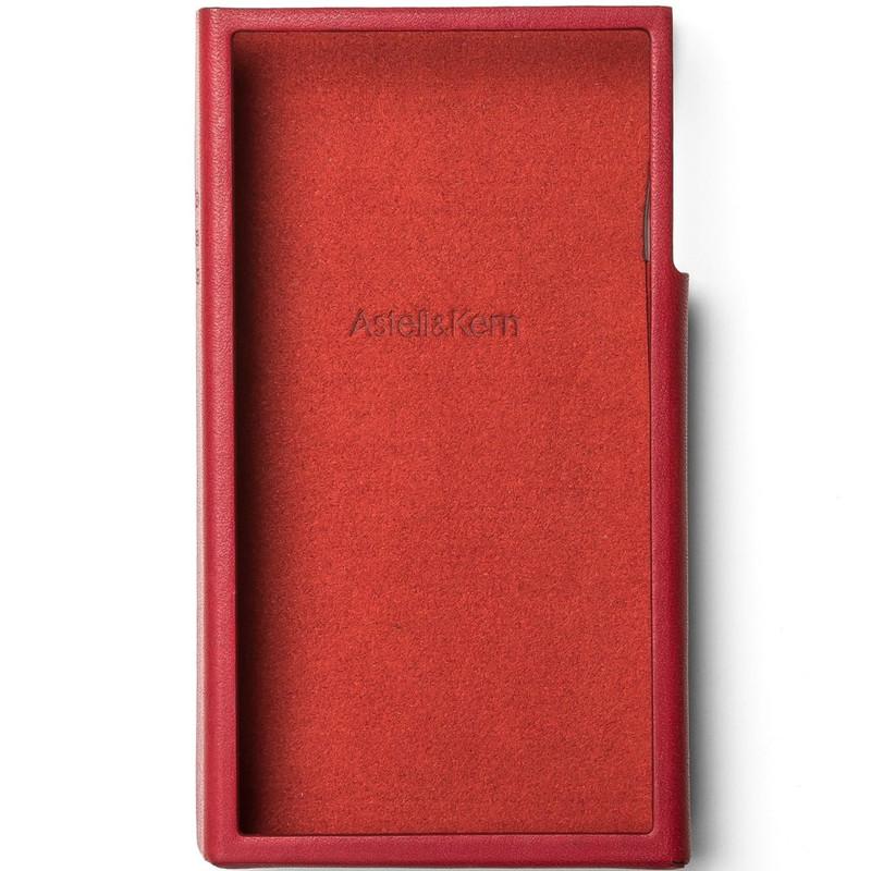 Astell&Kern A&futura SE100 専用 本革ケース ガーネットレッド [A&futura SE100 Case Garnet Red]