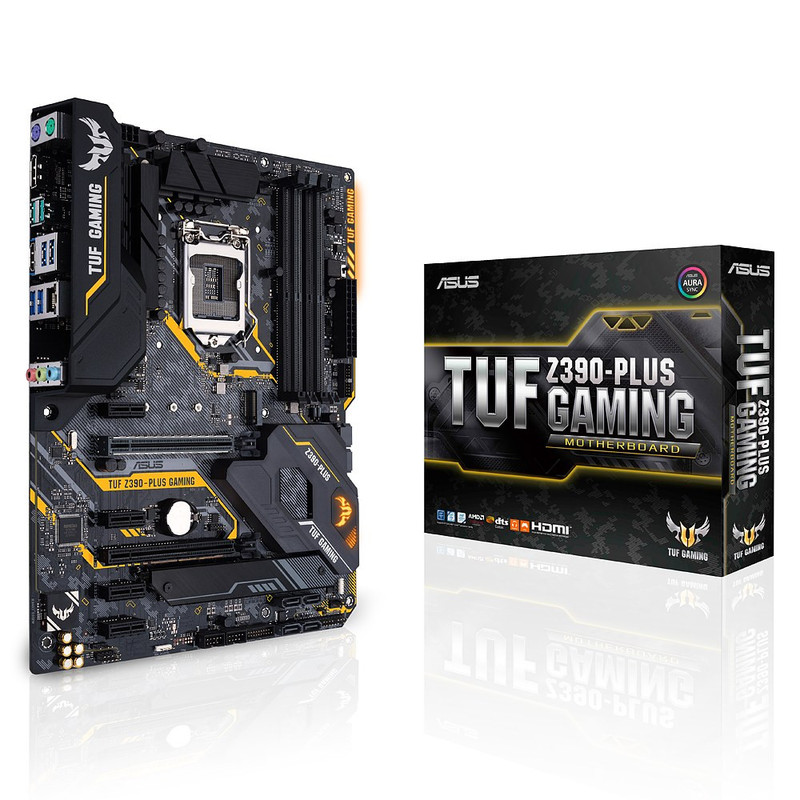 ASUS エイスース マザーボード TUF Z390-PLUS GAMING [LGA1151 Z390]